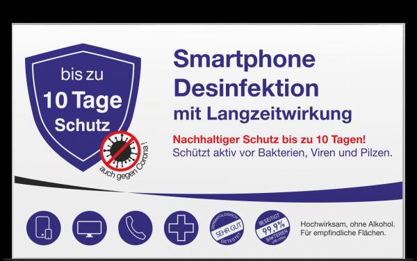 Smartphonedesinfektion mit Langzeitwirkung Box