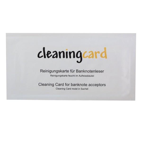 Reinigungskarte für Banknotenleser