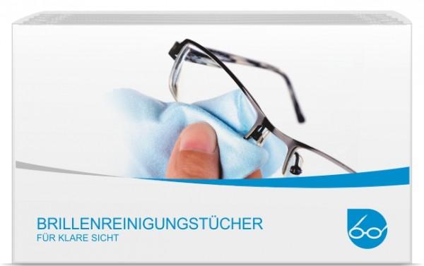 Brillenreinigungstücher Box