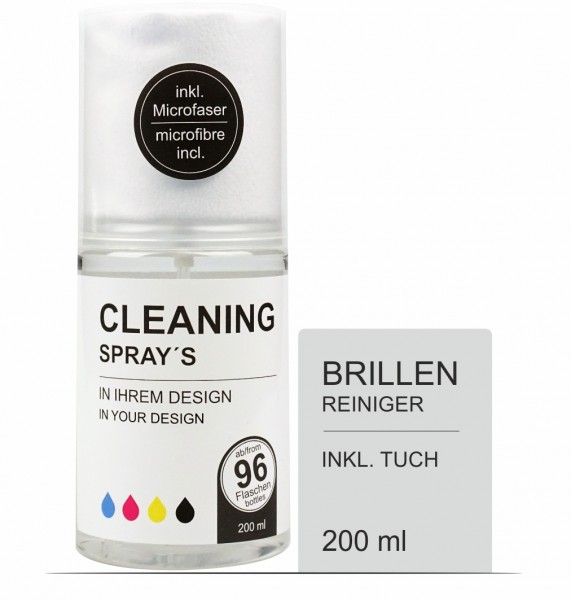 Brillenreiniger 200 ml Set