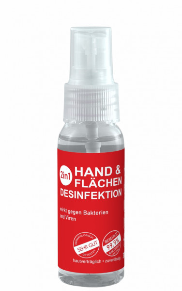 2in1 Desinfektions Spray 30ml
