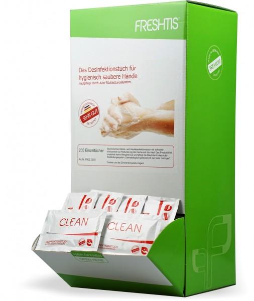 Desinfektionstücher 200er Box